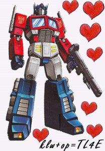 i luv optimus prime