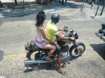 cubans have no need for motorcycle safety!