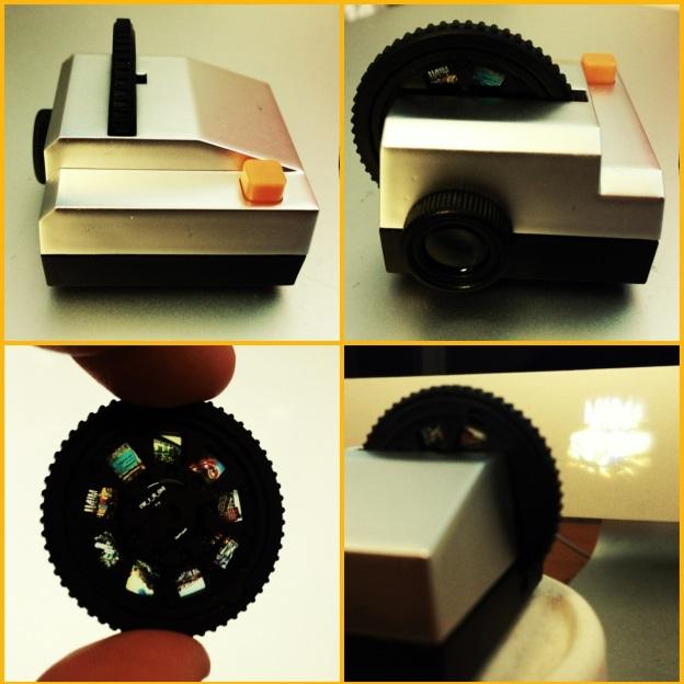 tiny tiny projector is tiny tiny cute!