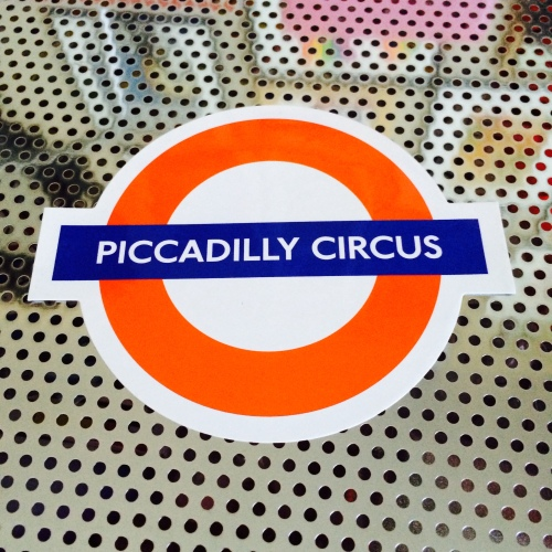 this was a happy coincidence: i didn't even know i had a piccadilly circus sticker until i went looking for something new to put on lola!