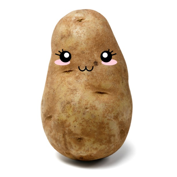 me in happier potato times